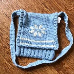Gap Kids Knit Blue Bag